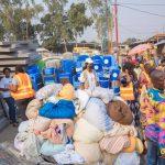 Assistance humanitaire : l'Ong Widal à la rescousse des familles sinistrées du camp Kabila.