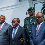 Primature/Suivi de l'évolution des opérations de l'état de siège dans les provinces du Nord-Kivu et de l'Ituri : Le Premier Ministre Jean-Michel Sama Lukonde Kyenge a reçu en séance de travail quelques membres du gouvernement et le Chef d'Etat-Major Général des FARDC.