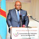 RDC / Budget : Loi de finances pour l'exercice 2022, Aimé Boji lance les travaux d'élaboration.