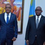 Primature : Des questions sécuritaires et socio-économiques au centre des échanges entre le Premier Ministre Jean-Michel Sama Lukonde et le Gouverneur du Sud-Kivu Théo Ngwabidje.